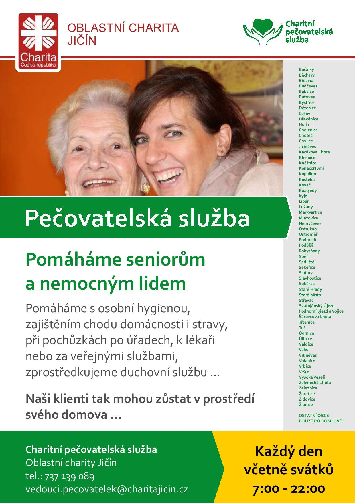 Charita Jičín